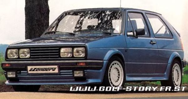 Zender Mk2 Golf I So Wish I Could Find One Of These Classic Road Bike Vw Jetta Car Inspiration