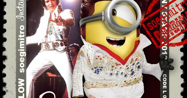 Elvis Minion Thank You Related Keywords Suggestions Elvis Minion
