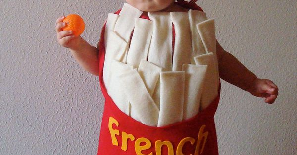 French Fry Costume Kids Halloween