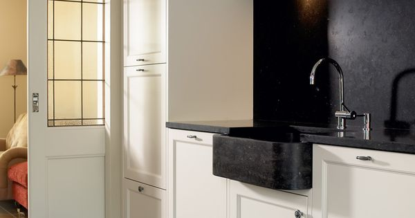 Vri interieur landelijke keuken modern wit kitchens pinterest kitchens decoration and - Idee deco keuken wit ...