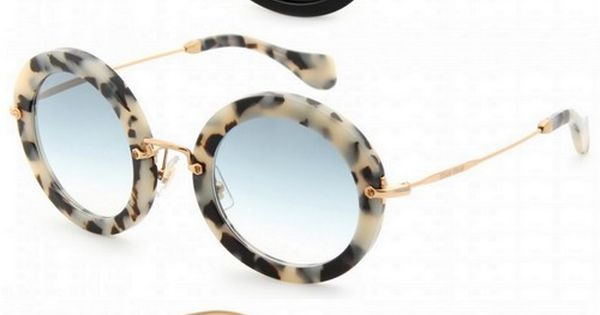 Miu Miu Round Retro Sunglasses, I want them all!! miumiu sunglasses summer