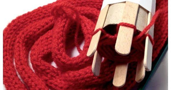 riesenstrickliesl aus klopapierrolle oder pringlesrolle basteln pinterest schlagzeug oder. Black Bedroom Furniture Sets. Home Design Ideas