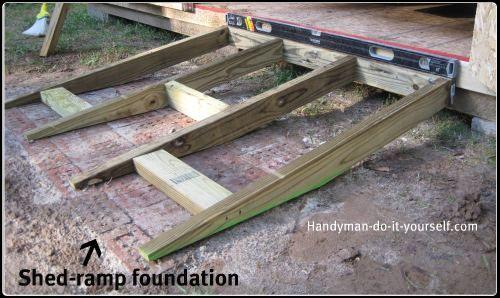 Shed Ramp Design Garage Workshop Shed Ramp Ramp Design