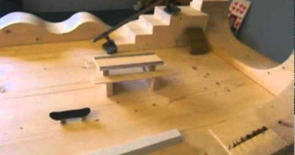 My Homemade Fingerboard Park Avi German Brant