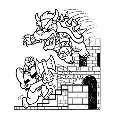 Top 20 Free Printable Super Mario Coloring Pages Online Mario