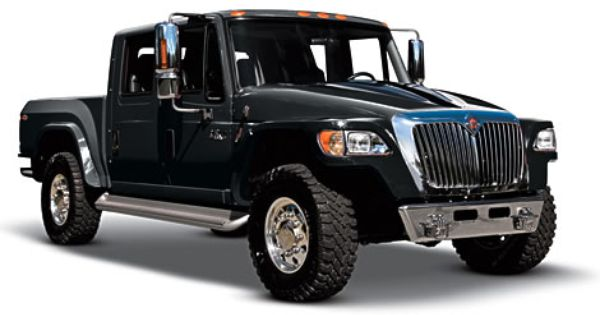 International Truck Debuts Special Edition Mxt With Images Trucks International Truck