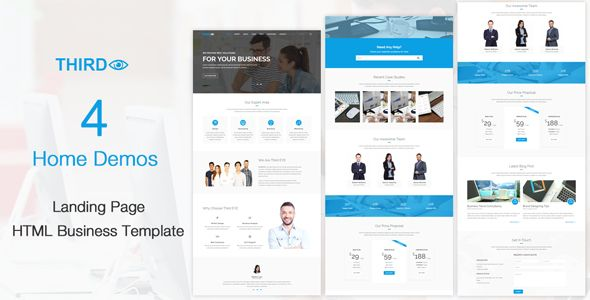 Third Eye Html Business Template Business Template Templates Best Templates