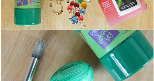 Dragon craft idea bejeweled dragon 39 s egg tutorial for for Dragon crafts pinterest