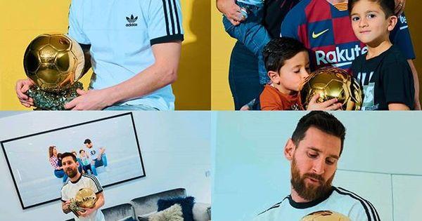 اخبار برشلونة En Instagram صور من جلسات تصوير الاسطورة ليو ميسي مع الكرة الذهبية السادسة Leomessi Ballondor Baseball Cards Cards Baseball