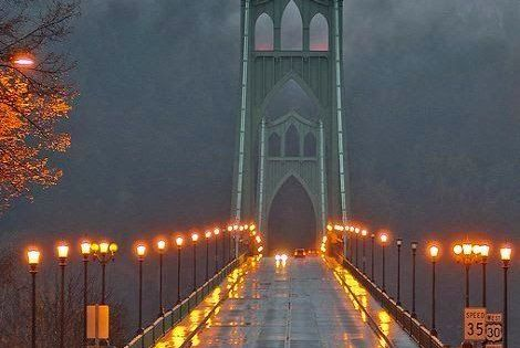 19 Most Beautiful Places To Visit In Oregon Portland Oregon Bridge And Rivers