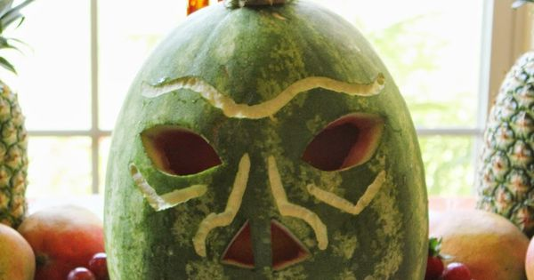Hawaiian Luau Party | Carved watermelon, Hawaiian luau ...