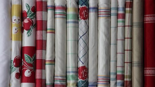 The Best Fabric For Making Your Own Easy Kitchen Towels And