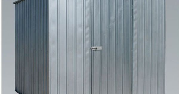 Galvanized Steel Shed 2 3m x 2 3m x 1 9m