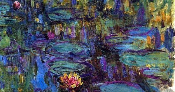 I love Monet. The Musée de l'Orangerie is a magical place. Claude