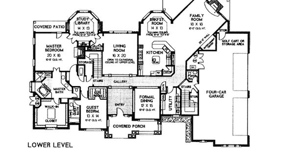 European french country tudor victorian house plan 66026 Luxury victorian house plans