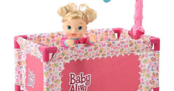 Baby Alive Crib Google Search Toys Pinterest Baby Alive Cribs