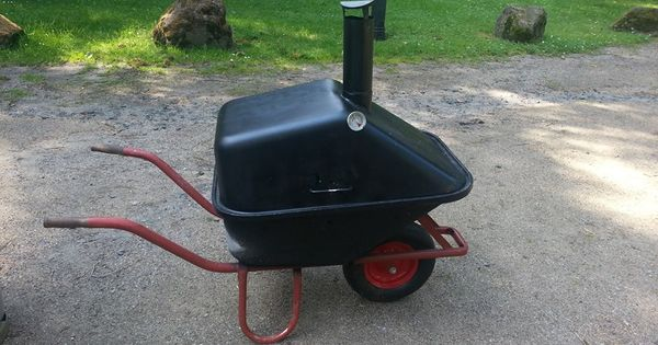Barbecue Grill Smoker Wheelbarrow Bbq Pits Smokers And