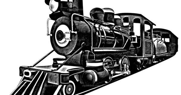 CLIPART RAILROAD TRAIN