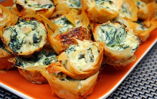 The most amazing appetizer I have ever tasted. Spinach dip bites.... These