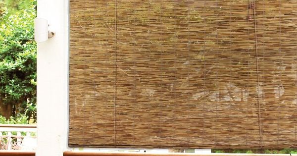 Radiance Woven Wood Bamboo Roll Up Window Blind Cocoa