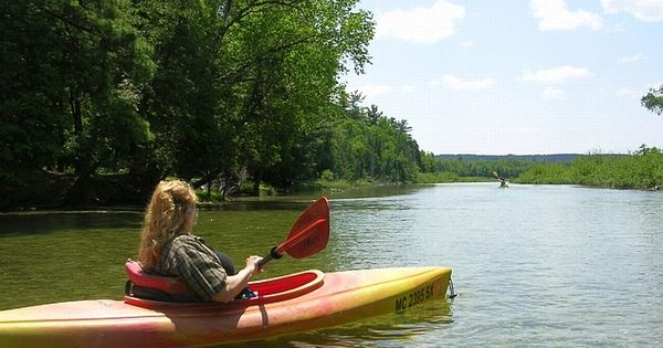 Canoeing the platte river in honor michigan favorite for Platte river michigan fishing
