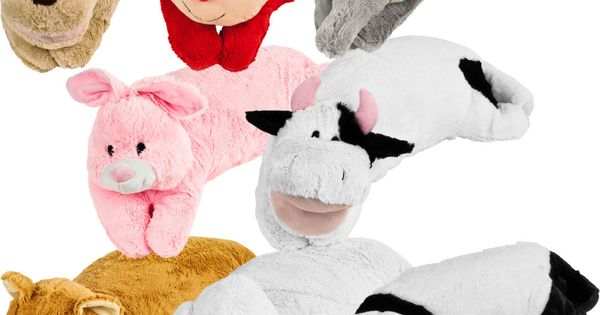 Large Animal Pillow : All-in-one Children s Large Animal Pillow Pet and Sleeping Bag Set by Trademark Games Bags ...