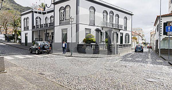 Street Scene In Machico On Madeira Street Scenes Madeira Photo