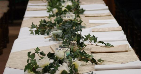 Ivy Table Runner By Whickender On Deviantart Winter
