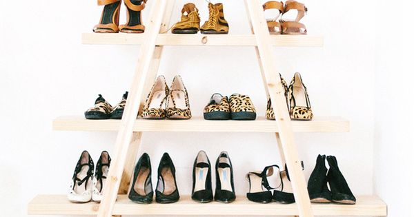 10 astuces diy pour ranger ses chaussures d co pinterest ranger astuces et diy. Black Bedroom Furniture Sets. Home Design Ideas