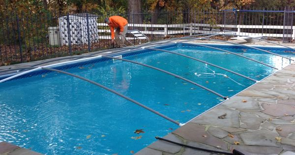 Diy Pvc Pipe Pool Cover Frame My Husband Is A Genius