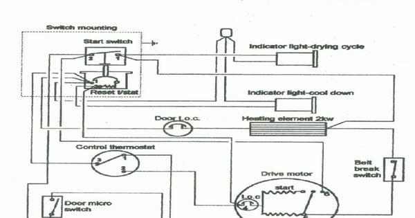 50 Hotpoint Dryer Timer Wiring Diagram Mi4f Di 2020