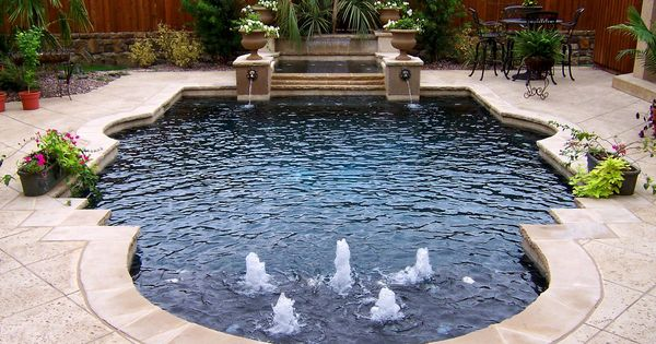 This is it a small formal pool wouldnt you feel like a for Pool design 974