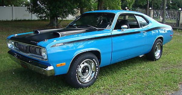 1972 Plymouth Duster 340 Plymouth Cars Vintage Muscle Cars