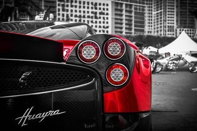 The Pagani Huayra... You want something that'll take you from 0-60 in