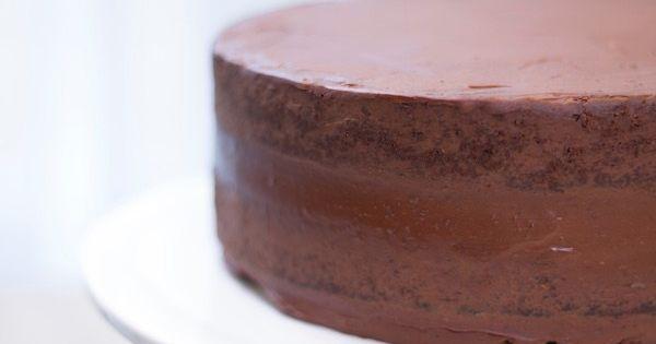 Le gateau chocolat-ganache, ma recette de base tout ...