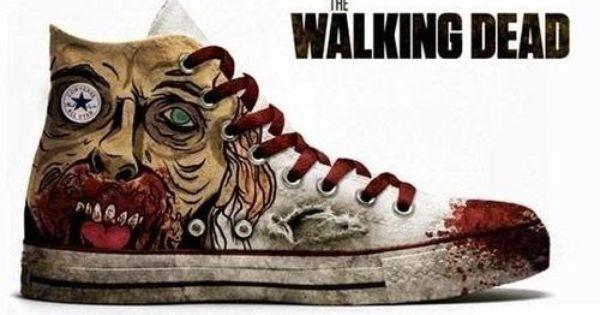 Walking dead shoes