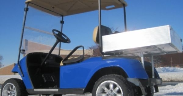Custom Ez Go 36v Electric Utility Golf Cart With Aluminum Dump Bed