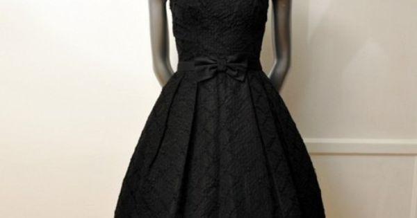 Vintage 50's Cocktail Party Dress - Planetclairevintage