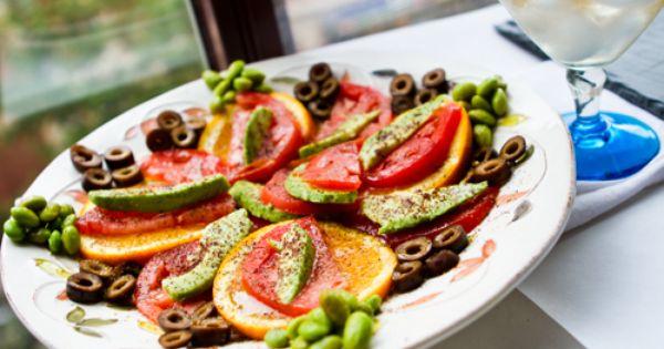 Sumac Citrus Avocado Tomato Salad | Tomato Salad, Avocado Tomato Salad ...