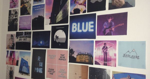 Love This Photo Collage With A Color Scheme Bedroom