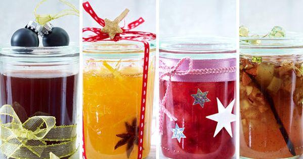 weihnachtliche marmeladen selbermachen gl ck in gl sern. Black Bedroom Furniture Sets. Home Design Ideas