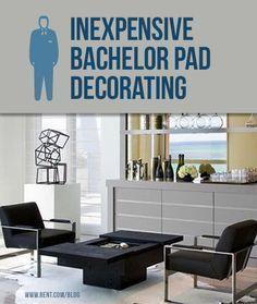 Inexpensive Bachelor Pad Decorating   Bachelor pad decor ...