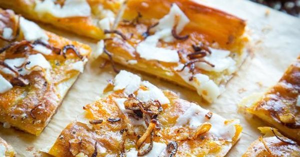 Check out Butternut Squash and Pecorino Tart with Crispy ...