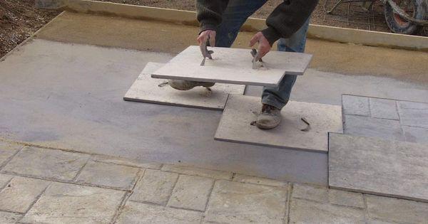 empreintes pour b ton maison pinterest beton am nagement ext rieur et terrasses. Black Bedroom Furniture Sets. Home Design Ideas