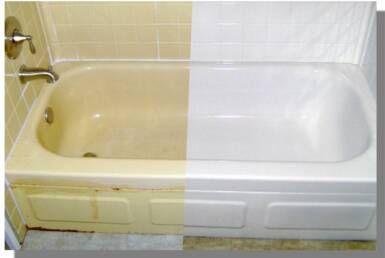 How To Refinish A Bathtub With Images Refinish Bathtub