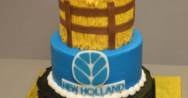 Facebook Ony Cake Decor : New Holland Tractor - by JenStrong @ CakesDecor.com - cake ...