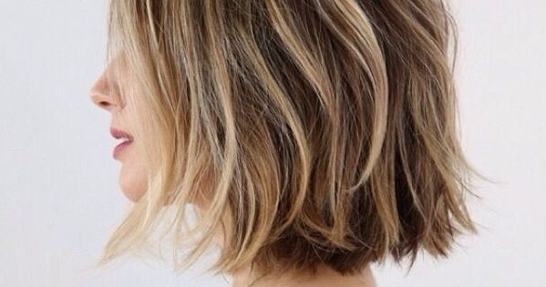 Hairstyles 2019: 21 Textured Choppy Bob Hairstyles: Short, Shoulder Length