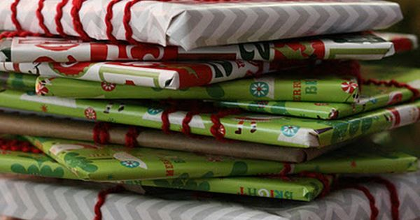 GREAT idea!! Wrap up twenty-five children's books and put them under the