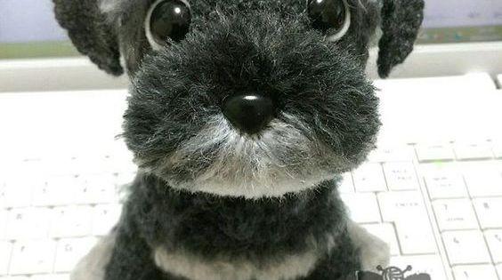 Amigurumi Dog Fur : Free Crochet Yorkie Dog Pattern With Video Virkning ...