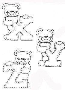 Alfabetos Infantis Para Pintar Em Tecido With Images